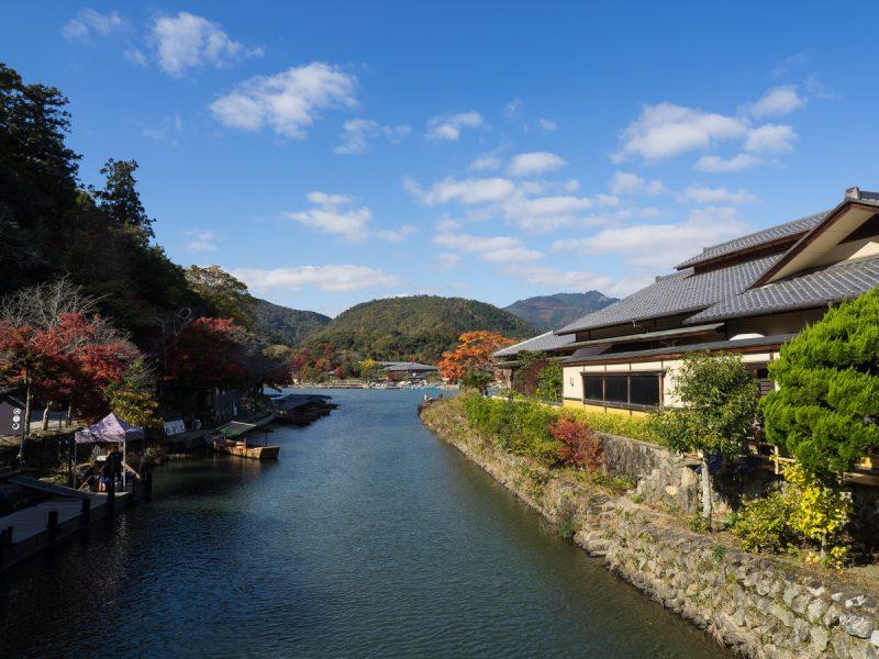 星のや京都上り桟橋