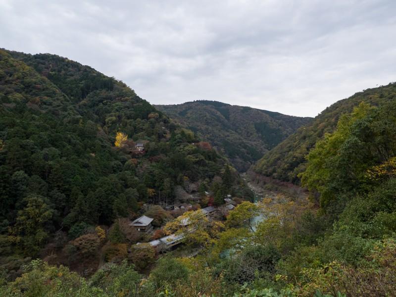 嵐山公園展望台から見る景色